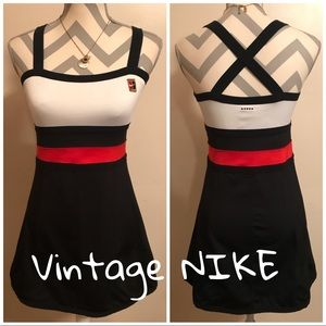 ✨RARE VINTAGE NIKE 80s/90s Athletic Tennis Dress